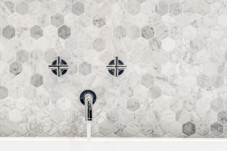 www.remodel-dallas.com Joseph&Berry luxury remodeling and luxury custom home in dallas Tx marble hexagon tiles bathroom bathroom remodeling dallas, best remodeling company dallas, large bathroom, large shower, modern bathroom design wall mounted faucet