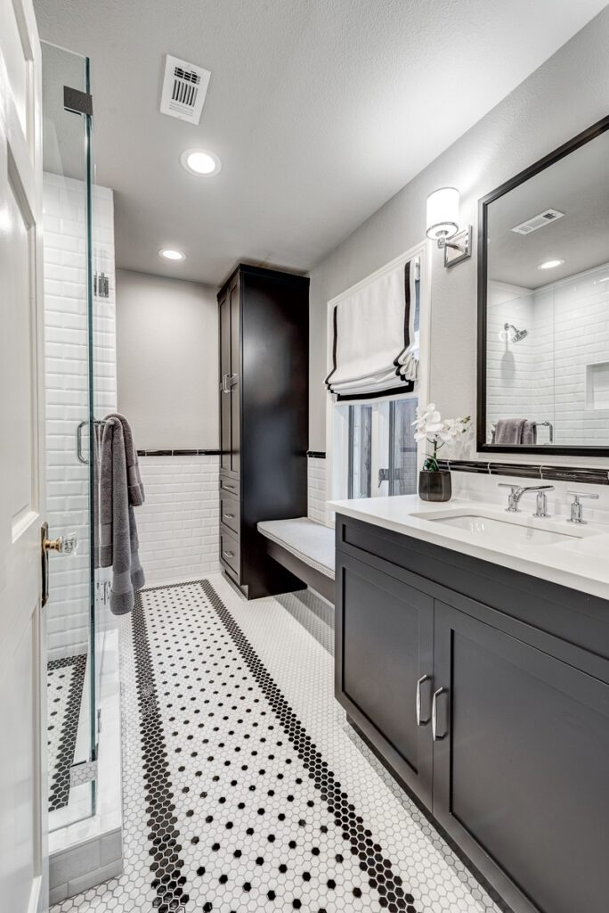 modern small bathroom remodeling NOMI - Luxury Bathroom Remodel spa bathroom