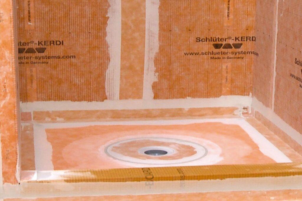 Waterproofing company NOMI luxury bathroom remodeling