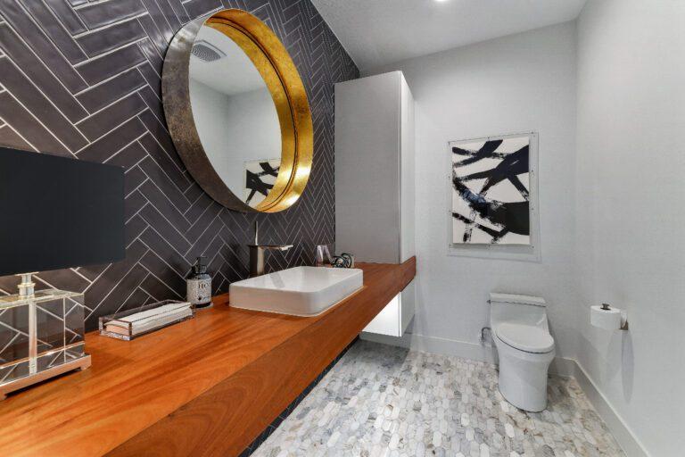 Bathroom renovation plano